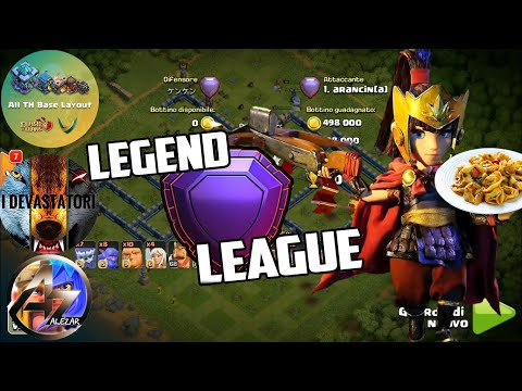 I DEVASTATORI Attacks Legend by ANNA C@rm1ne arancin[a] ALPHA Clash of Clans Th13 Attack