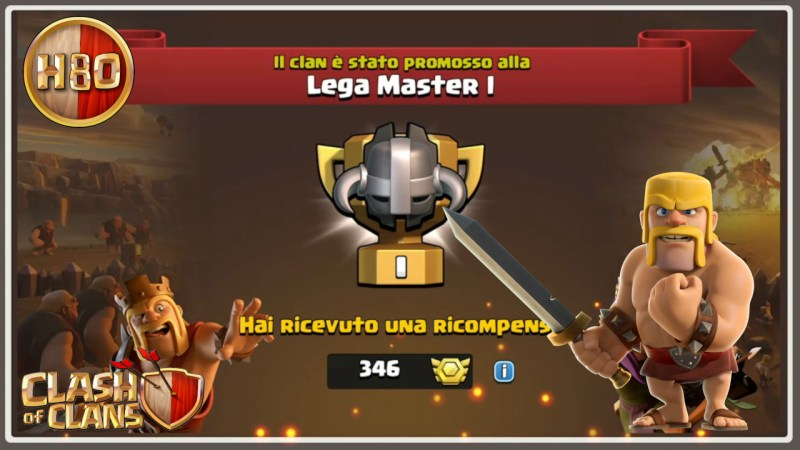 Clash of Clans ITA -E132- Super Cwl in Accademia!