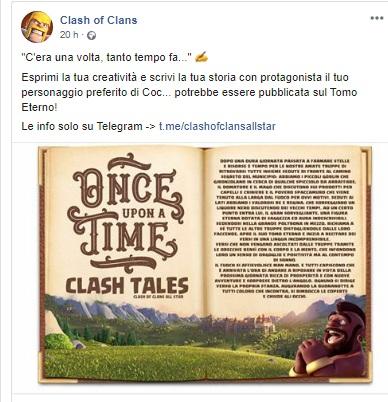 evidenza 1 - Dai sfogo alla fantasia e scrivi la favola della buonanotte ai personaggi di Clash of Clans!