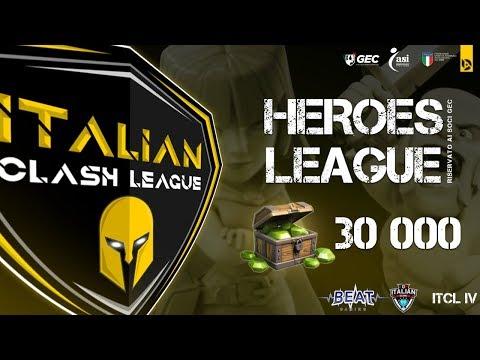 Dimostra di essere il migliore partecipando all'ITCL IV – Heroes League