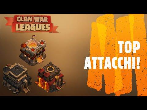 Migliori attacchi in CWL under Th12