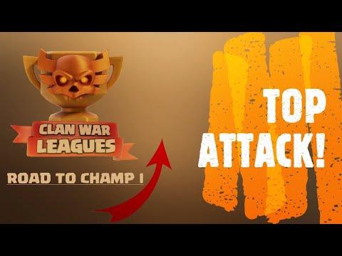 ROAD TO CHAMP I! I Migliori attacchi TH13