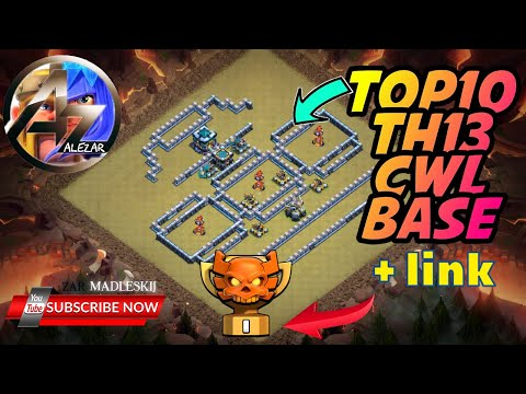 NEW 10 TH13 WAR BASES/CWL + LINKS 2020 March Best Town Hall 13 War Base Clash of Clans
