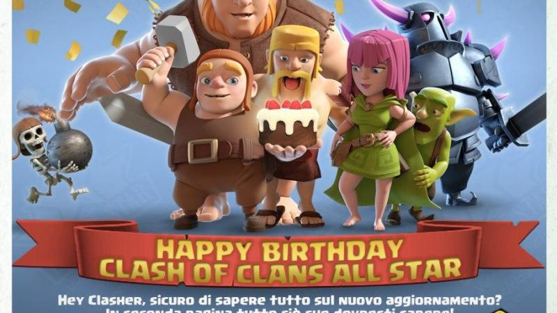 Clash Star Chronicle: tanti auguri CoC All Star