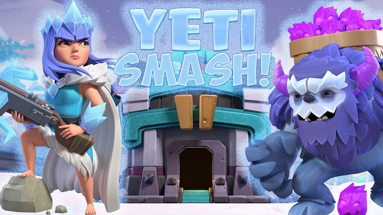 Th13 Yeti Smash Legend League Attacks 2020 May! Townhall13 Yeti Bobat attack strategy.