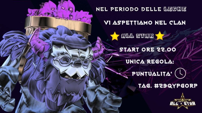 Fame di Stelle con Clash of Clans All Star