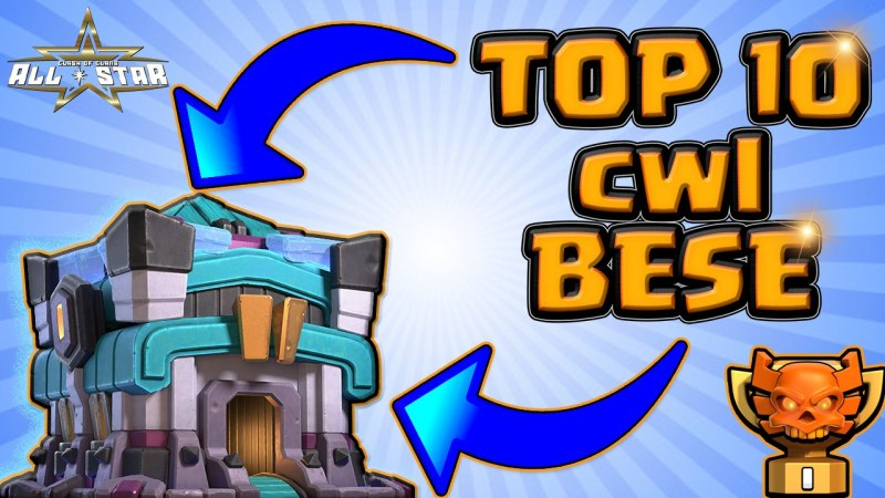 New TOP 10 TH13 CWL WAR Base With Copy Link – BEST Anti 3 Star TH13 Base Clash of Clans