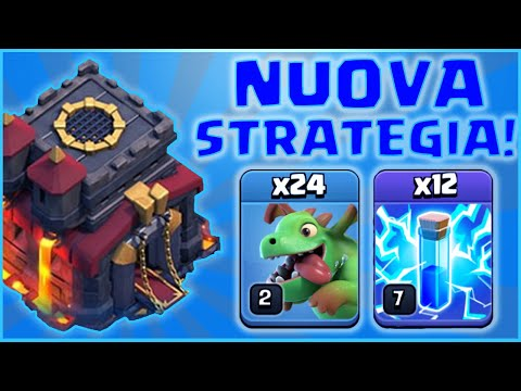 BABY ZAP! LA NUOVA SUPER STRATEGIA PER TH10! clash of clans