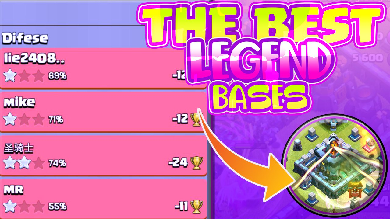THIS BASE IS OP IN LEGEND LEGUE! – Clash of Clans