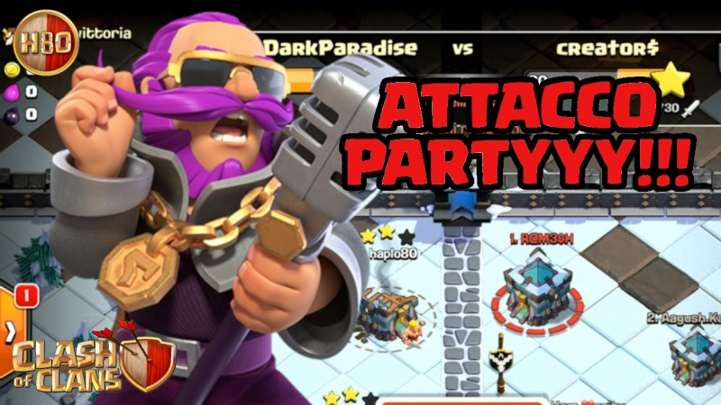Warden Party in CWL!!! -E157- Clash of Clans ITA
