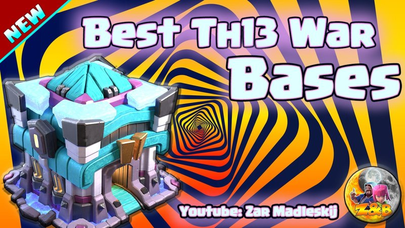 TOP 7 TH13 WAR BASE/CWL + LINKS 2020 Best Town Hall 13 War Base Clash of Clans