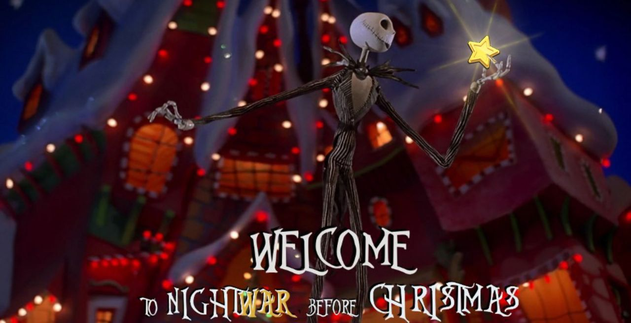 Nightwar before Christmas