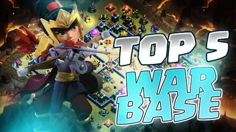 TOP POPULAR WAR BASE TH13 + LINK // CLASH OF CLANS ITA 2021