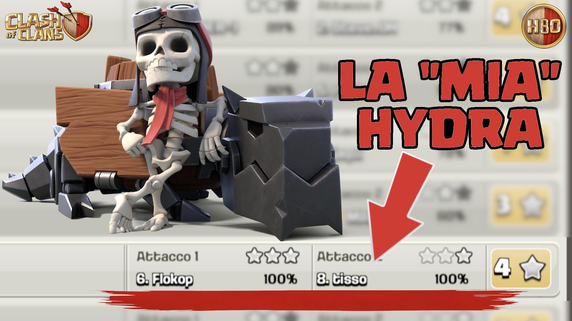 """La """"mia"""" hydra -E204- Clash of Clans ITA"""