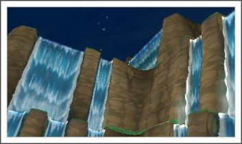 A view of the waterfalls that would have otherwise been missed from original perspective.