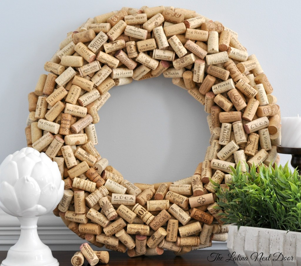 Cork Wreath 1024x906 Cork Wreath