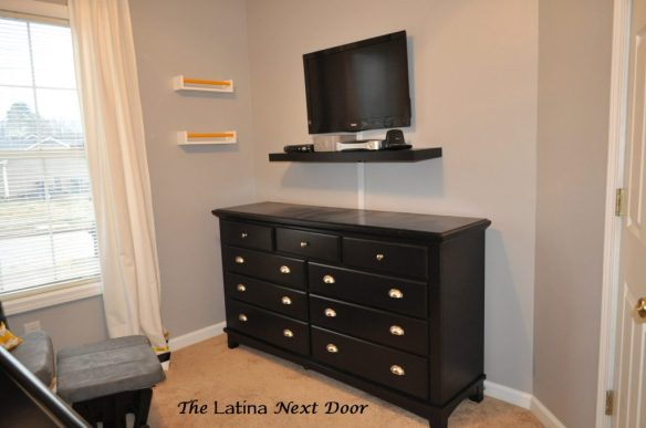 Black Dresser Makeover 1024x680 Nephews Nursery Reveal