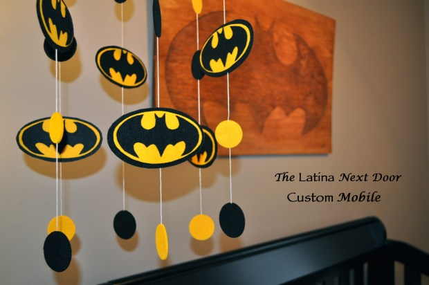 Custom Batman Mobile 1024x680 Nephews Nursery Reveal