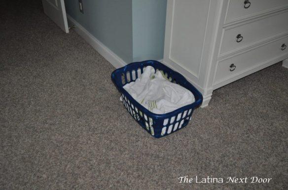 Towels in Basket edited 1 1024x680 Master Bedroom.... Progress