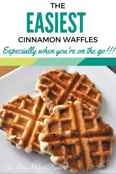 Easy Cinnamon Waffles