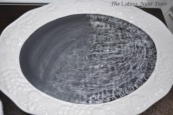 White Dish Chalkboard 2 1024x680 De Plato a Pizarra