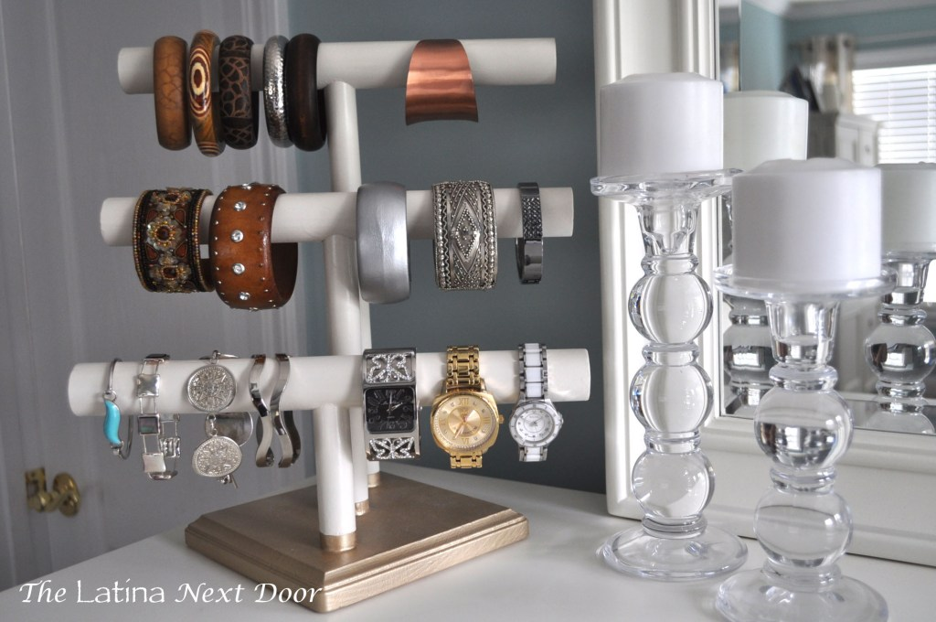 DIY Jewelry Holder 11 1024x680 DIY Jewelry Holder