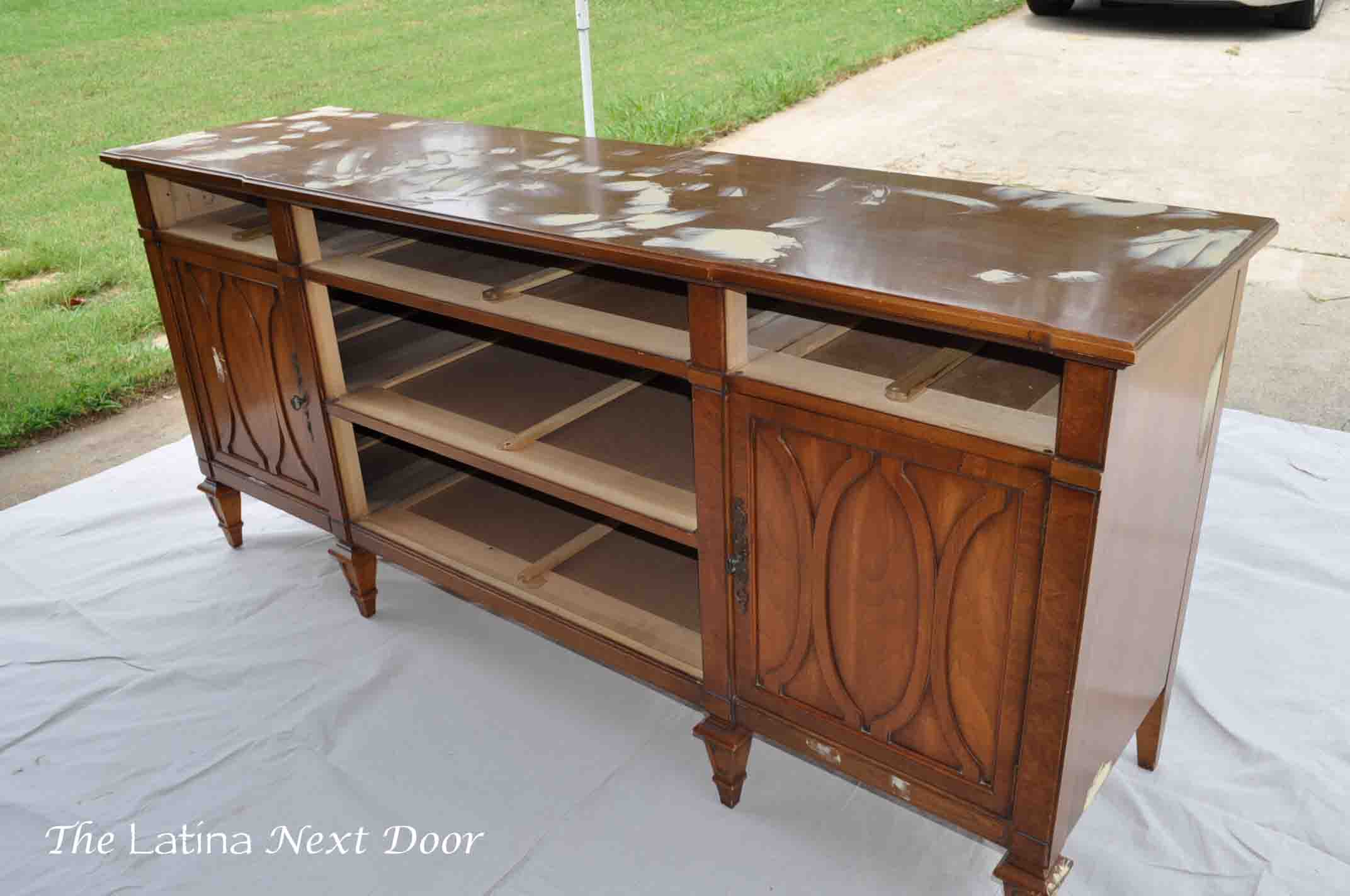Dresser Turned Buffet 4 Dresser Turned Buffet