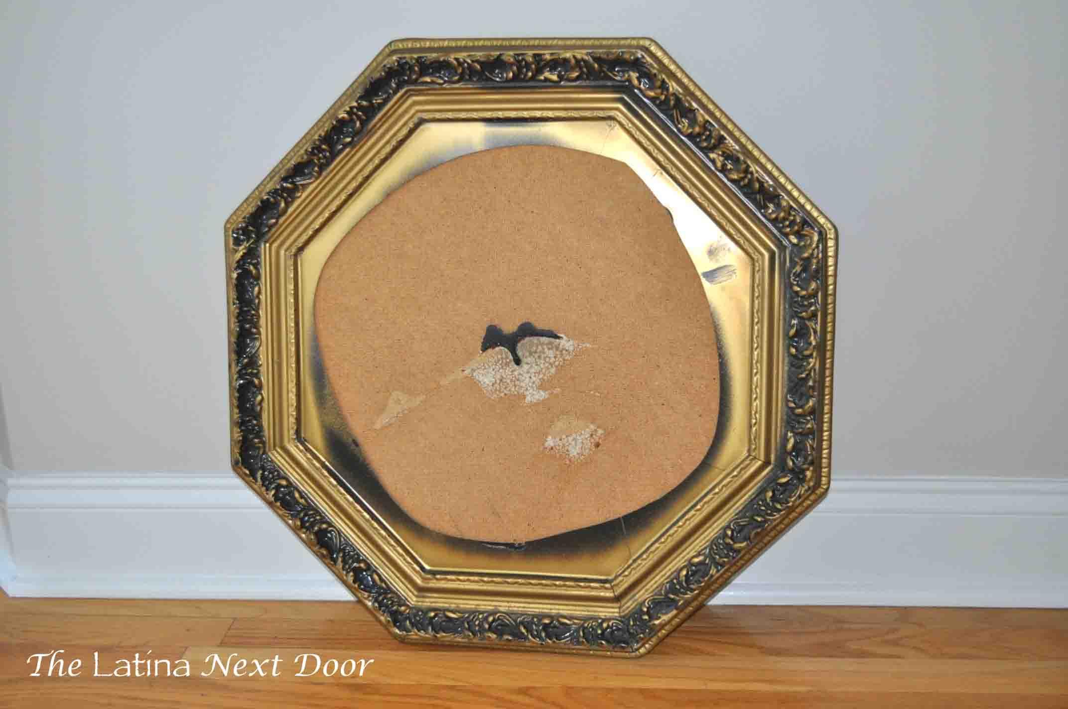 Mirror to Corkboard From Wedding Mirror to Corkboard