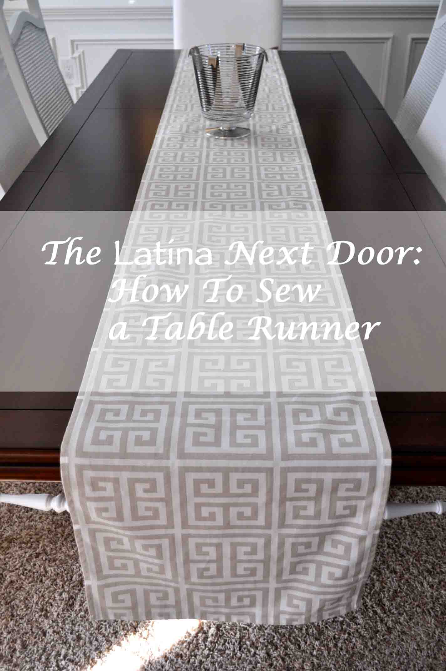 How to sew a table runner - How To Sew A Table Runner How To Sew A Table Runner
