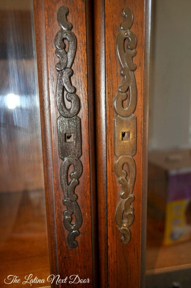 China Cabinet ORB Paint 680x1024 China Cabinet Transformation and Dining Room Update