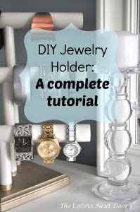 %name DIY Jewelry Holder