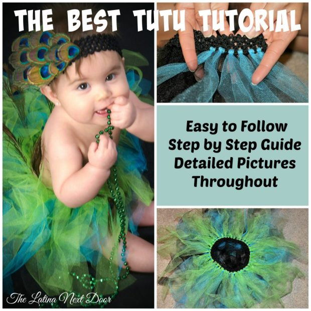 DIY Tutorial Collage 1 1024x1024 TuTu Cute for Halloween!