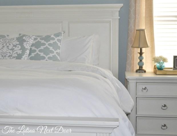 King Bed Makeover 2 1024x788 King Bed Makeover For Master Bedroom