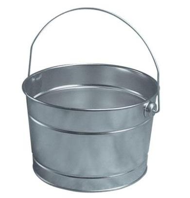 Leaktite 2.5 Quart Metal Pail Last Minute Valentines Day Gift Idea
