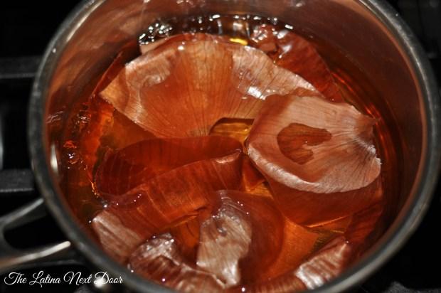 Onion Peel Tea Brew 1024x680 Onion Peel Tea for Menstrual Cramps