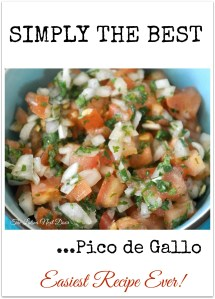 %name Best Pico De Gallo Recipe