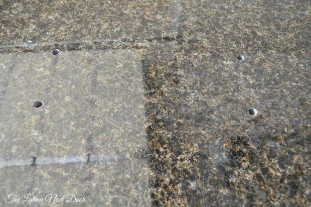 Granite 4 Holes 1024x680 How to Repair Granite   The Inexpensive Way