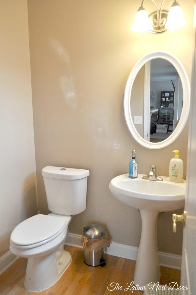 Powder Room BEFORE 680x1024 Powder Bathroom Remodel