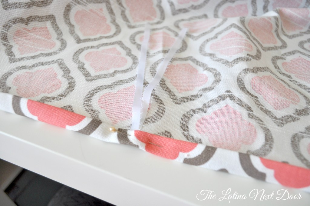 DIY crib skirt 3 1024x680 DIY Crib Skirt