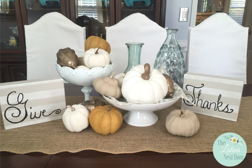 8 1024x683 DIY Fall Centerpiece