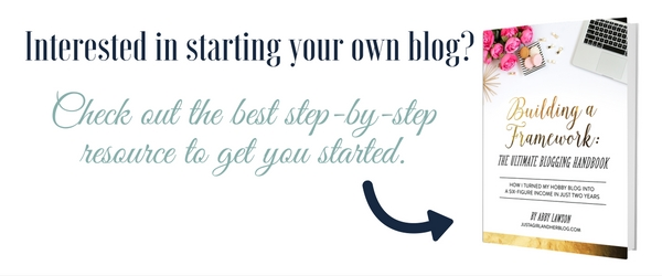 Interested in starting your own blog After the booze is all gone....