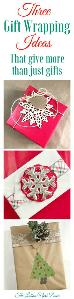 Gift Wrapping Ideas for Christmas 256x1024 3 Gift Wrapping Ideas for Christmas