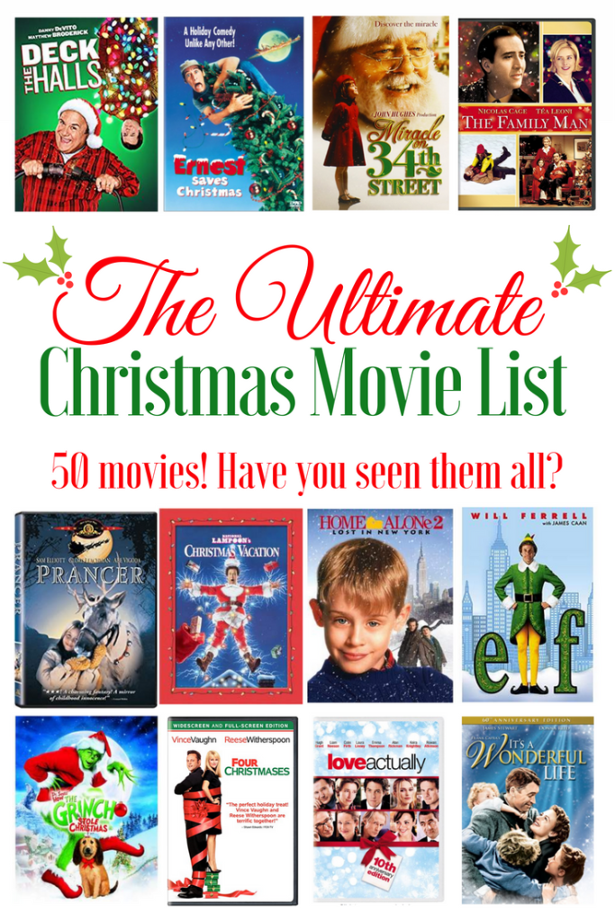 Where to find cheap pillow covers 3 683x1024 Ultimate Christmas Movie List