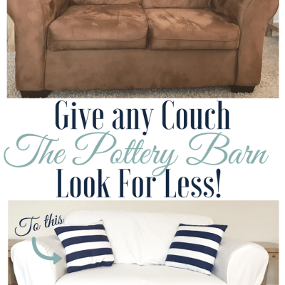 Pottery Barn White Sofa Look For Less