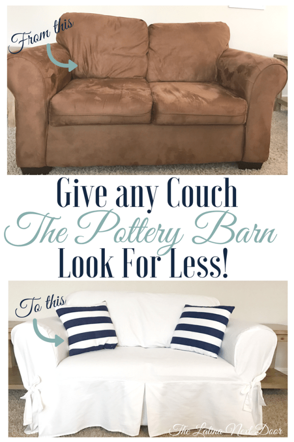 pottery barn sofa look for less Pottery Barn White Sofa Look For Less