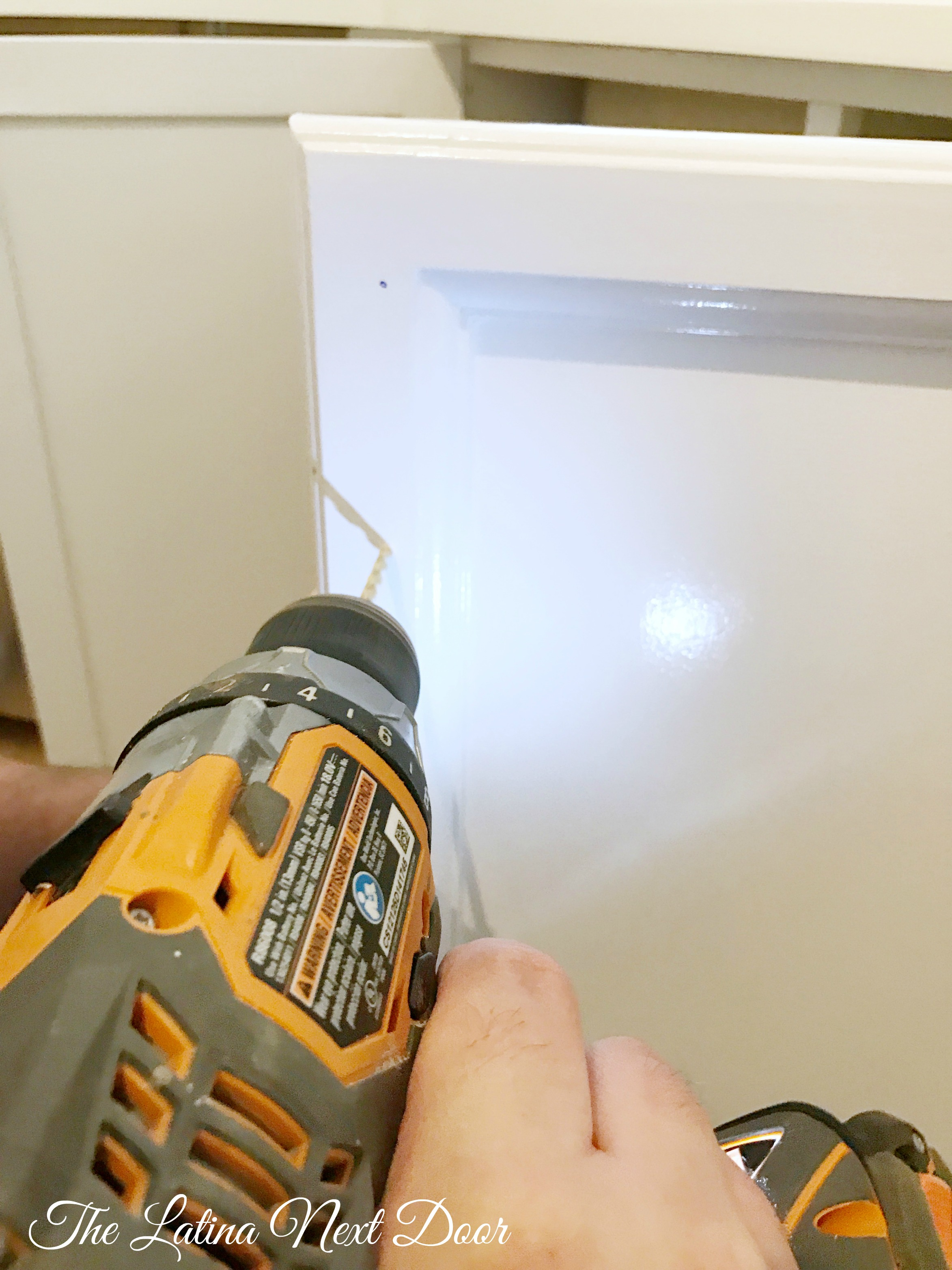 SW Painted Kitchen Step 10 2 How To Paint Kitchen Cabinets