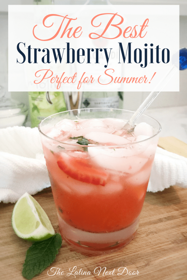 The Best Strawberry Mojito Pin The Best Strawberry Mojito