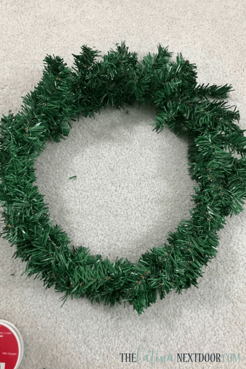 3 8 DIY Dollar Tree Christmas Wreath