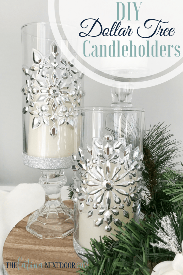 Dollar Tree Christmas Candleholders Dollar Tree Christmas Candleholders
