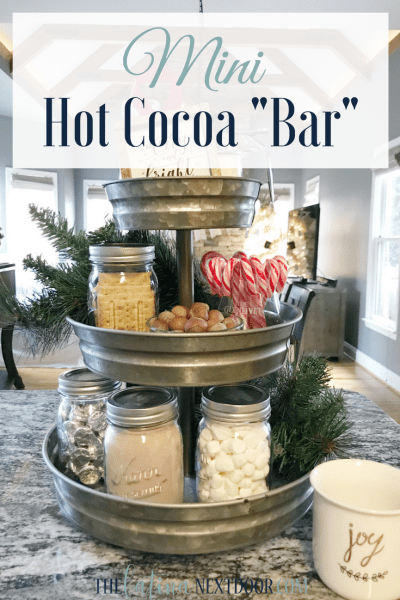 Mini Hot Cocoa Bar